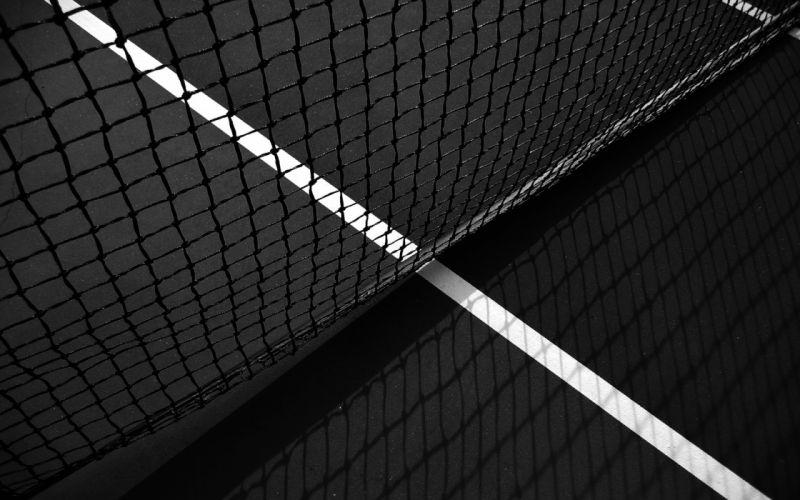Tennis court wallpaper