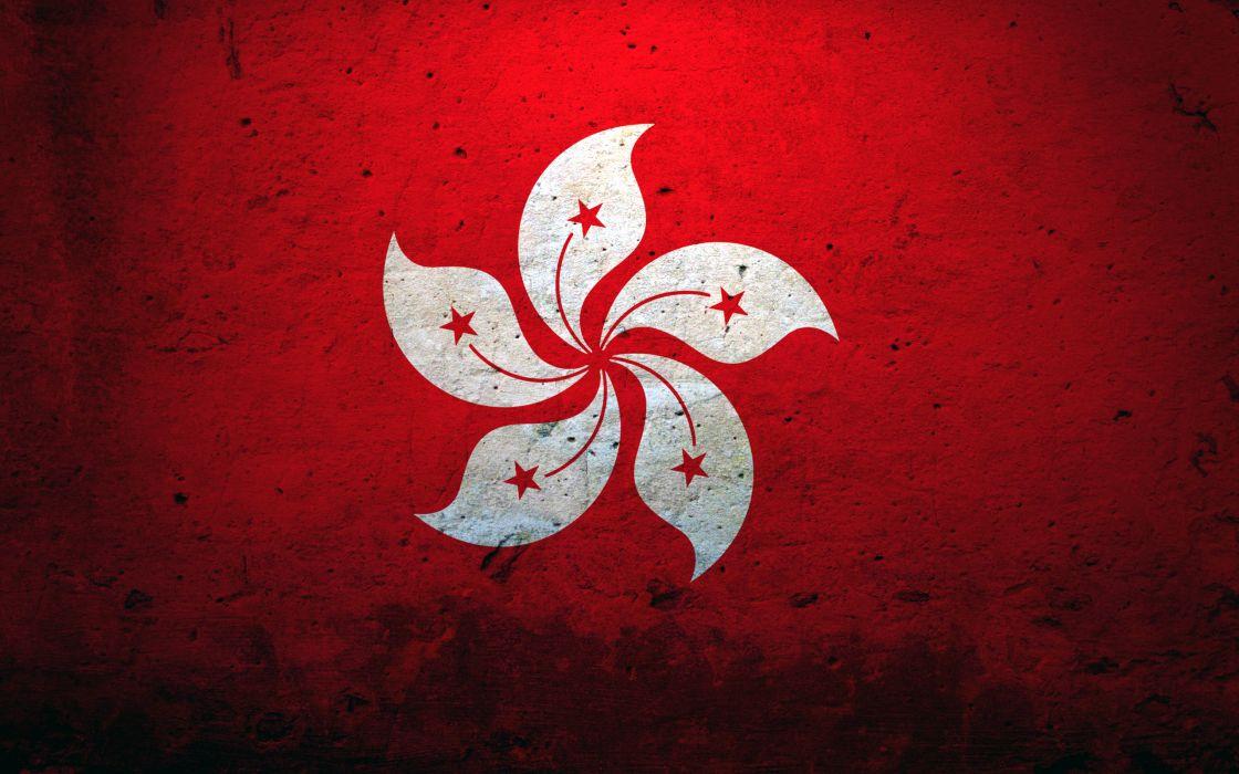 Flags hong kong hk hong kong phooey wallpaper