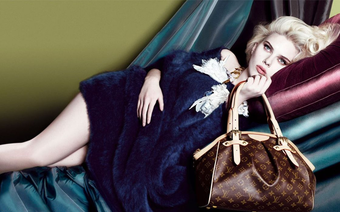 Women american scarlett johansson actress models fashion lobsters louis vuitton wallpaper