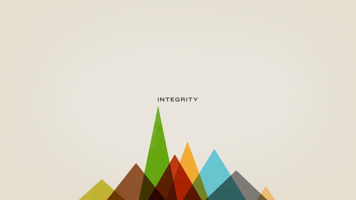 Abstract multicolor digital art integrity background wallpaper