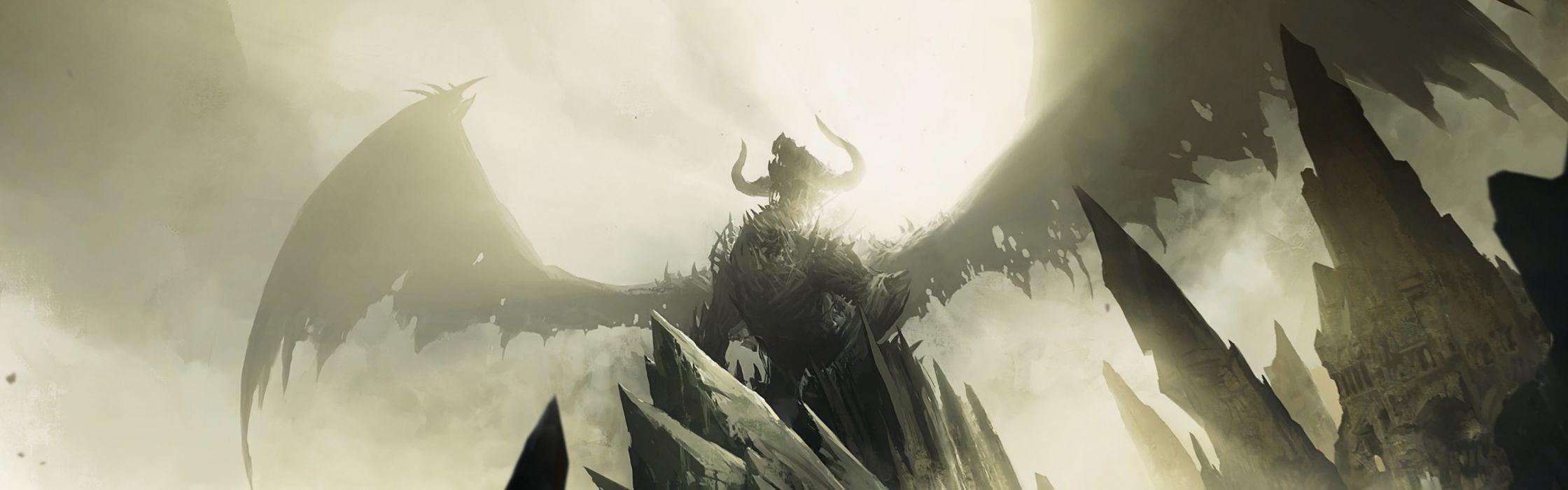 Dragons guild wars 2 wallpaper