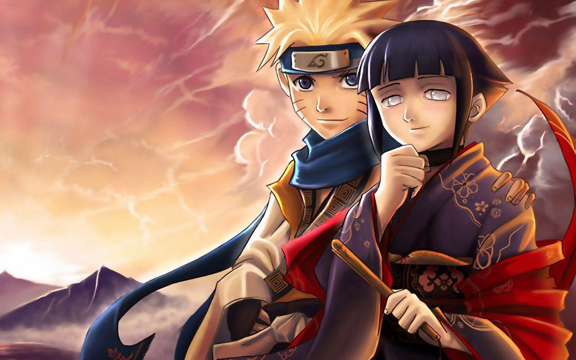 Naruto shippuden hyuuga hinata naruto uzumaki wallpaper