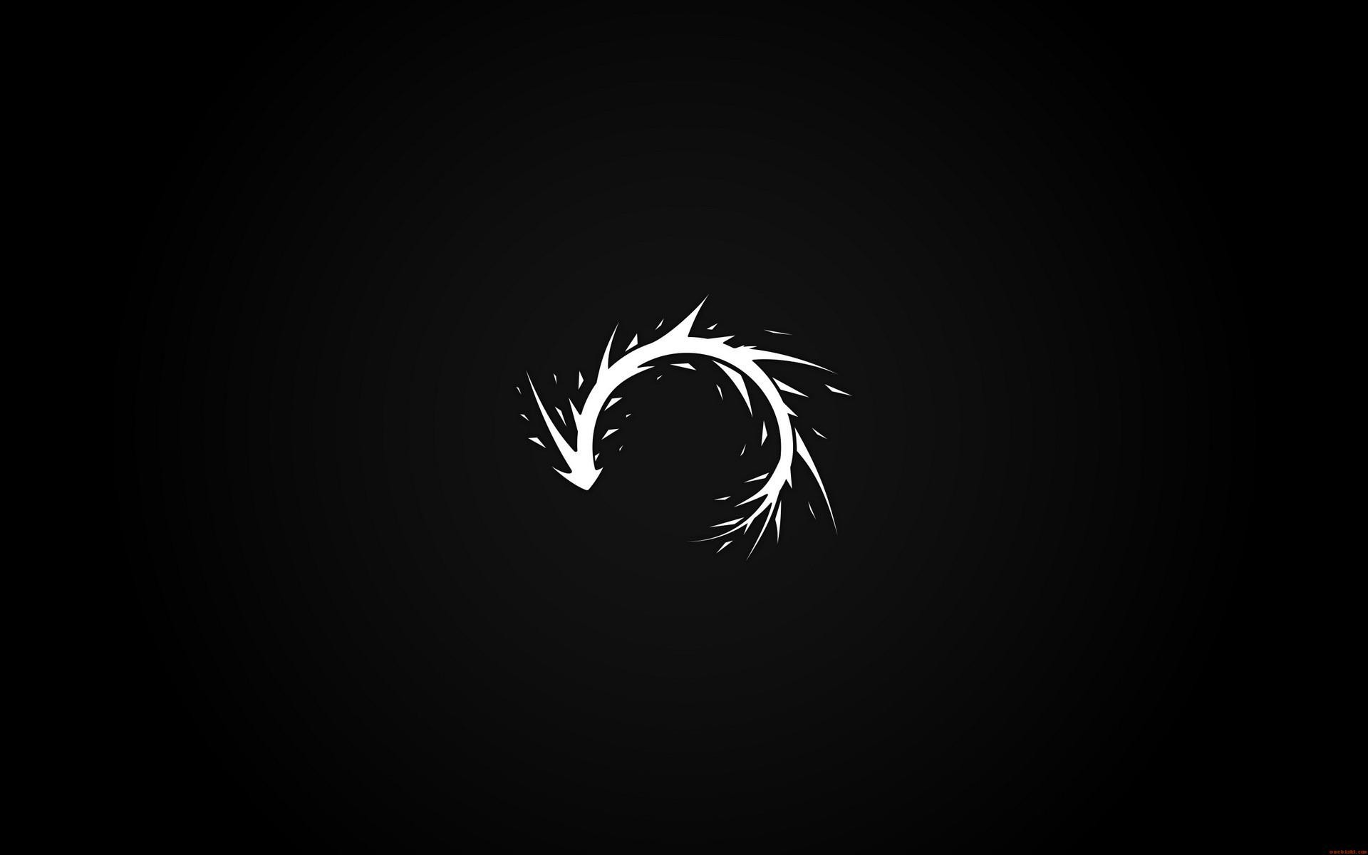 Abstract black minimalistic dark white paint splatter arrows black background curved wallpaper | 1920x1200 | 15537 | WallpaperUP