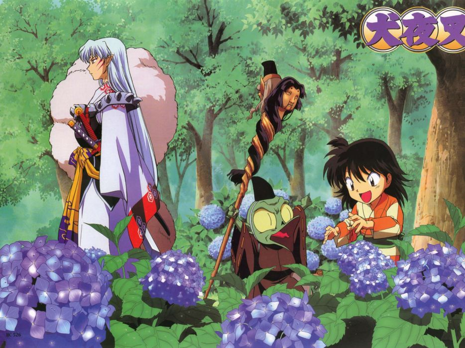 Inuyasha anime sesshomaru jaken wallpaper