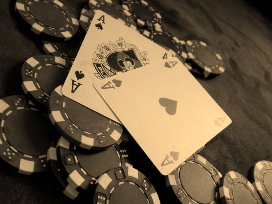 Cards poker poker chips chips wallpaper