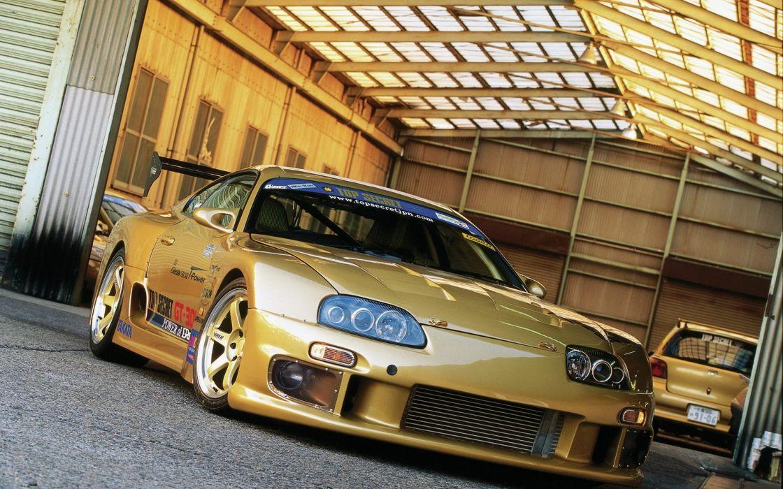 Cars toyota supra wallpaper