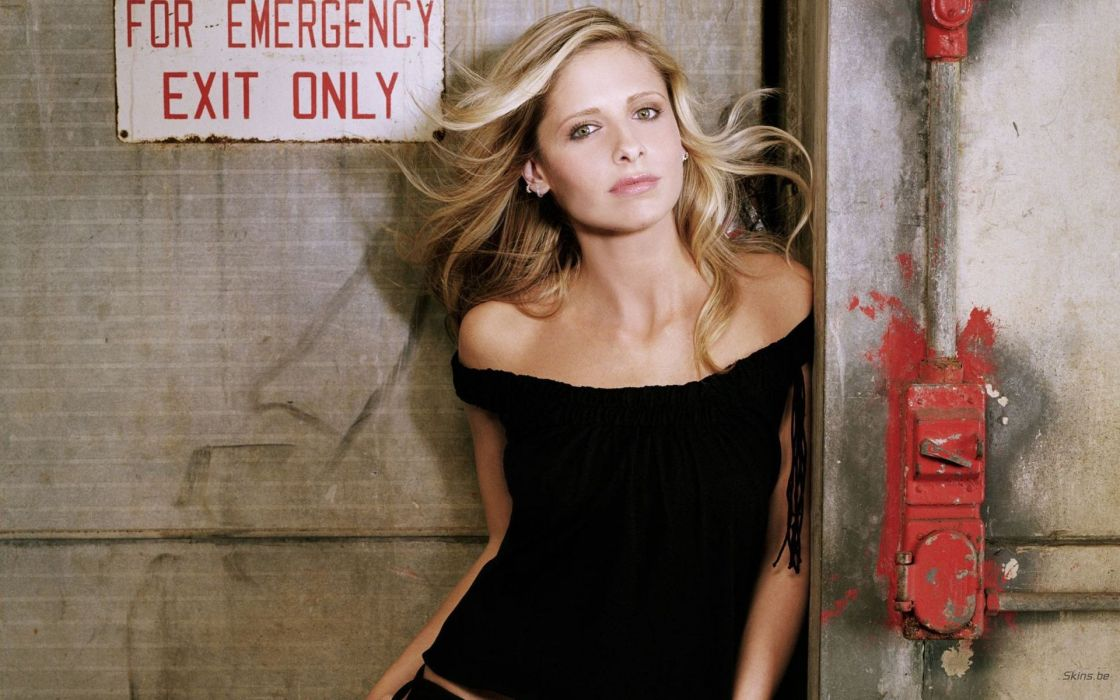 Women sarah michelle gellar celebrity wallpaper