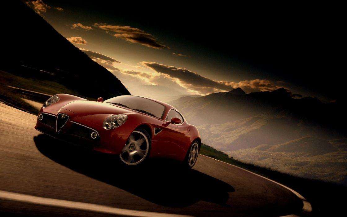 Cars alfa romeo alfa romeo 8c wallpaper