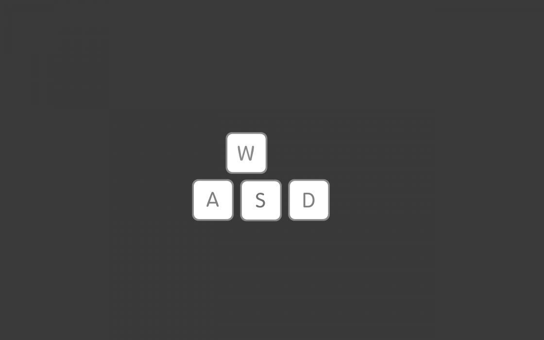 Video games minimalistic mac gray keyboards gaming pc games wallpaper