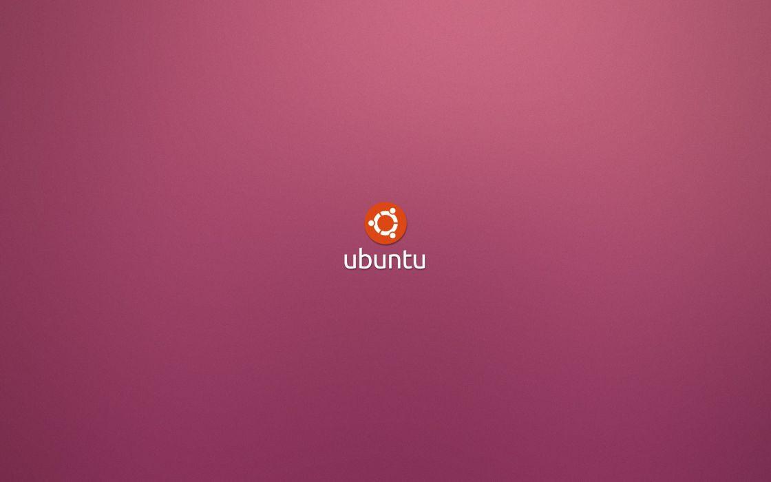 Minimalistic linux ubuntu operating systems logos wallpaper
