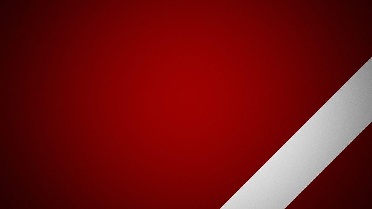 Red white wallpaper