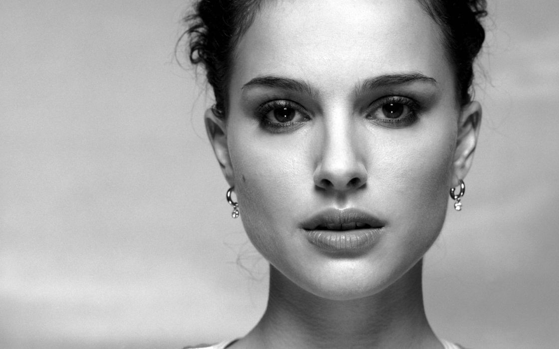 Women models natalie portman wallpaper