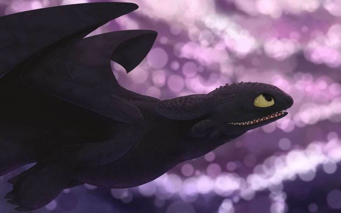 Toothless how to train your dragon wallpaper