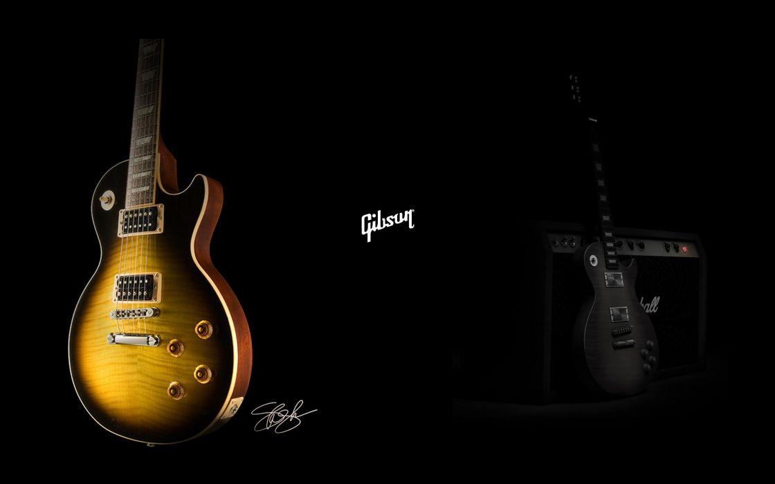 Gibson guitars wallpaper