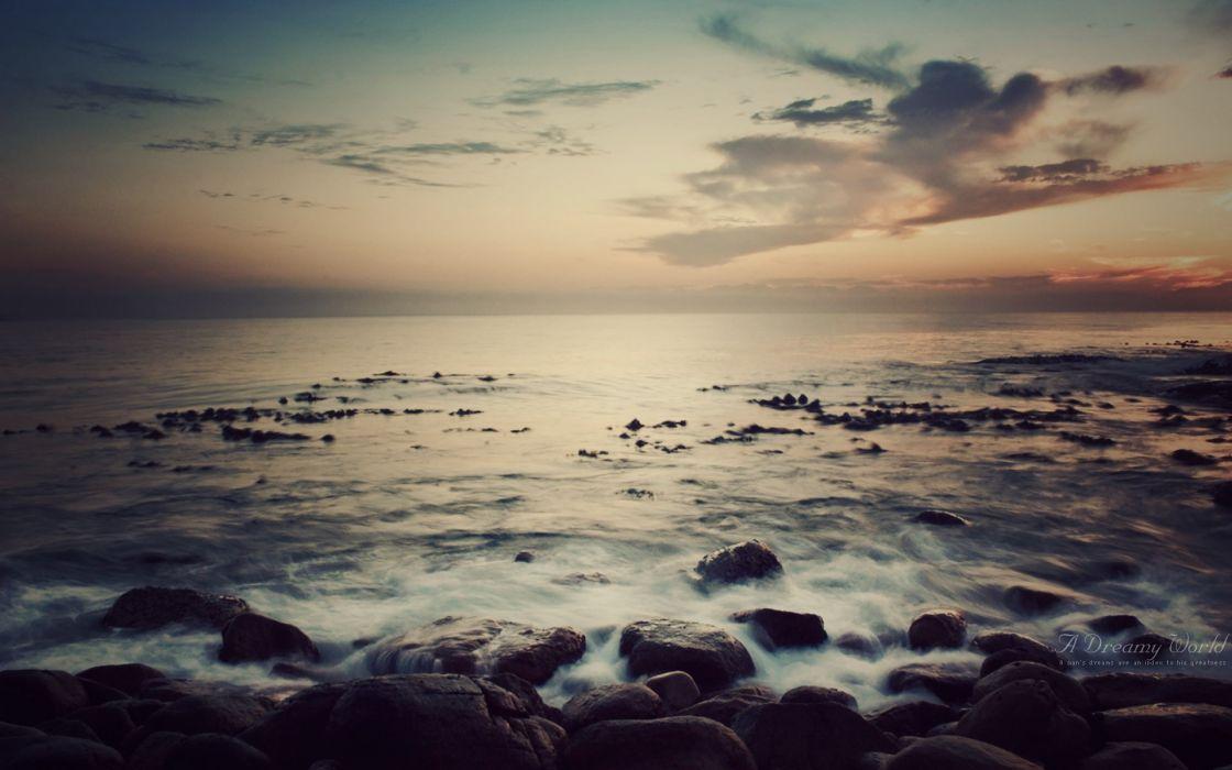 Nature seas scenic wallpaper