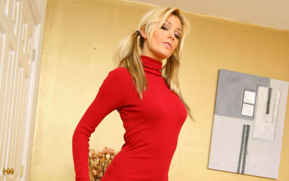 Blondes women natasha marley wallpaper