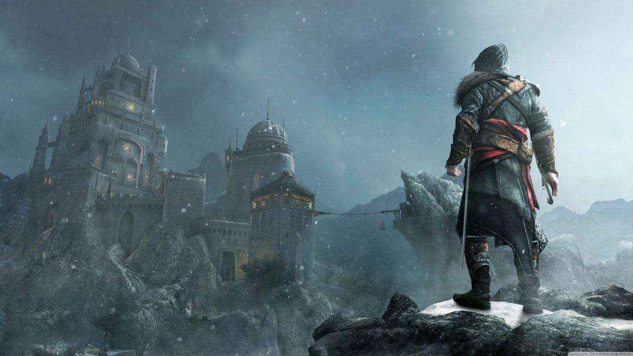 Video games landscapes assassins wallpaper
