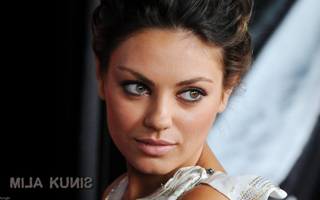 Women mila kunis actress wallpaper