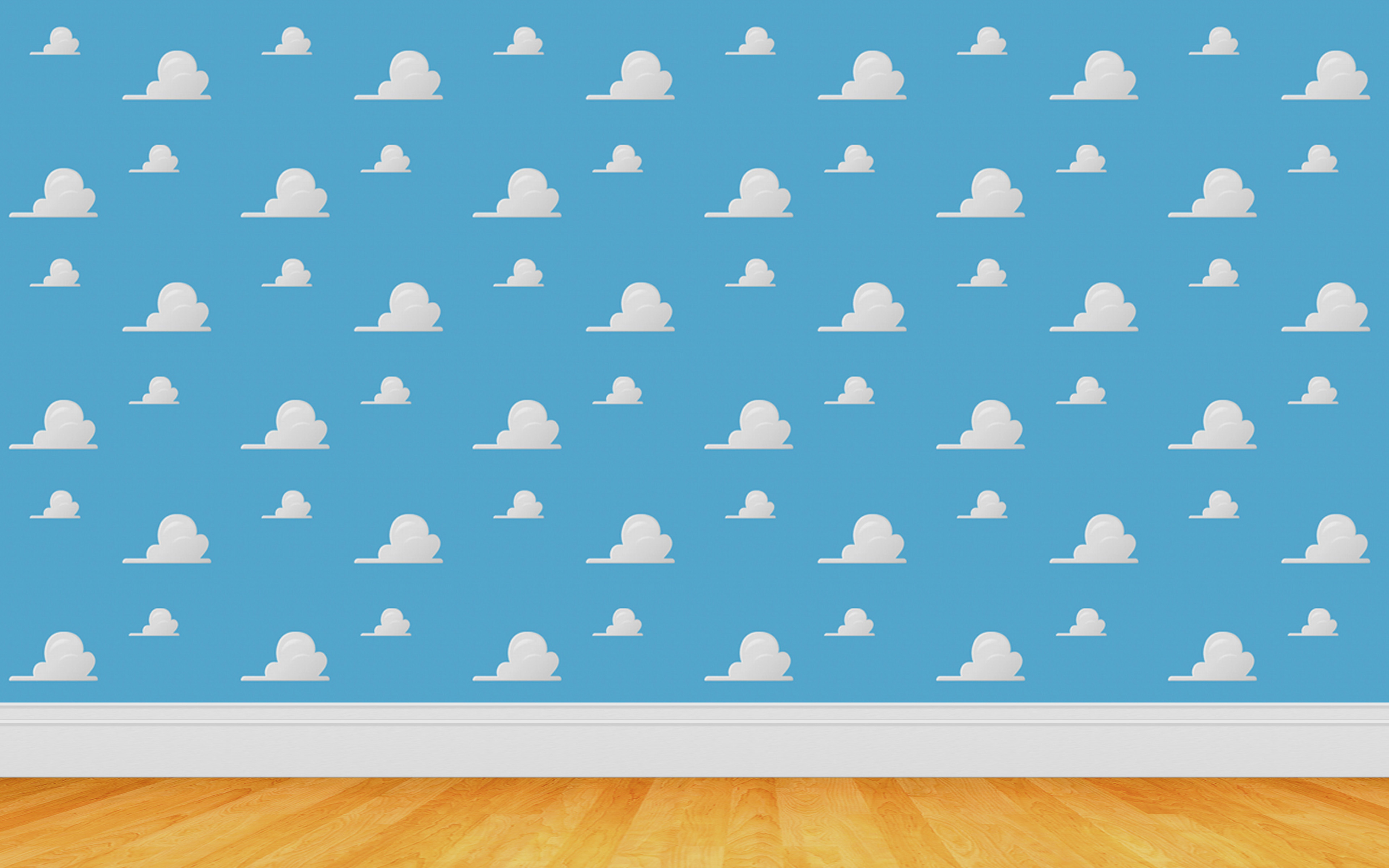 clouds wall toy story wallpaper 3840x2400 15800
