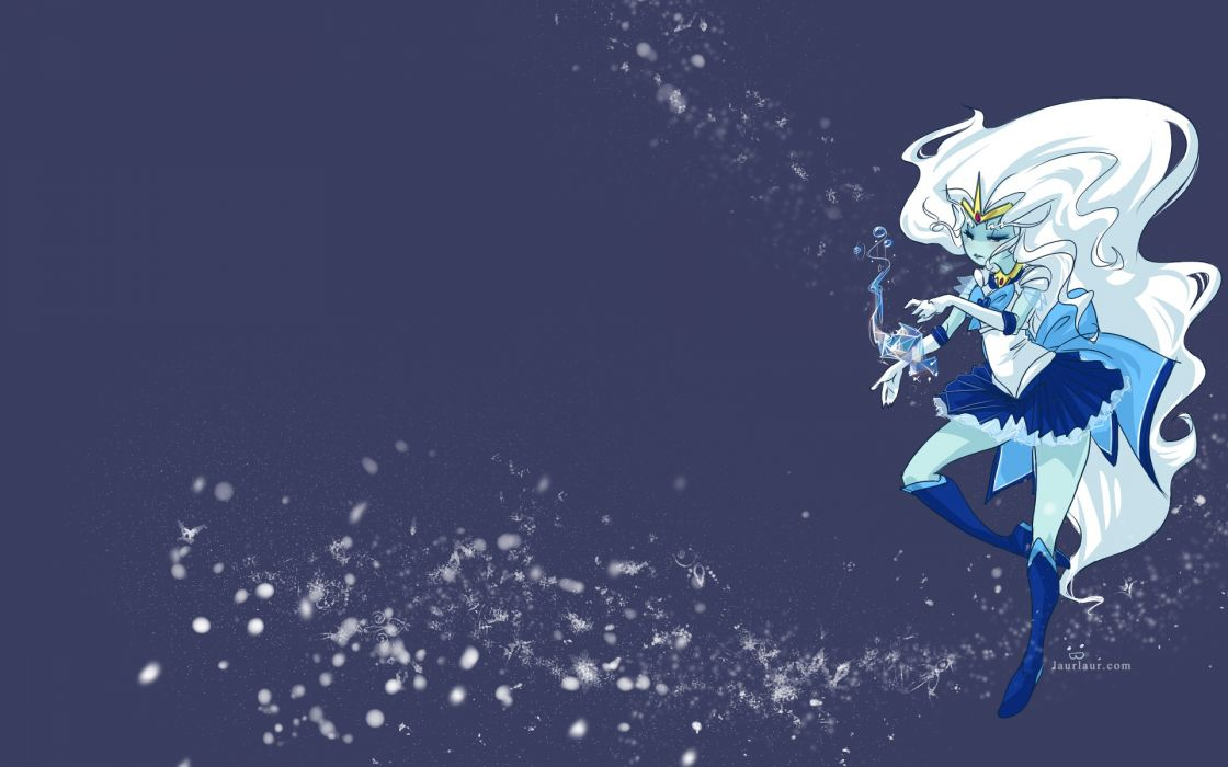 Boots ice winter (season) snow sailor moon long hair adventure time snowflakes sailor mercury white hair crossovers photomanipulations ice queen laur wallpaper