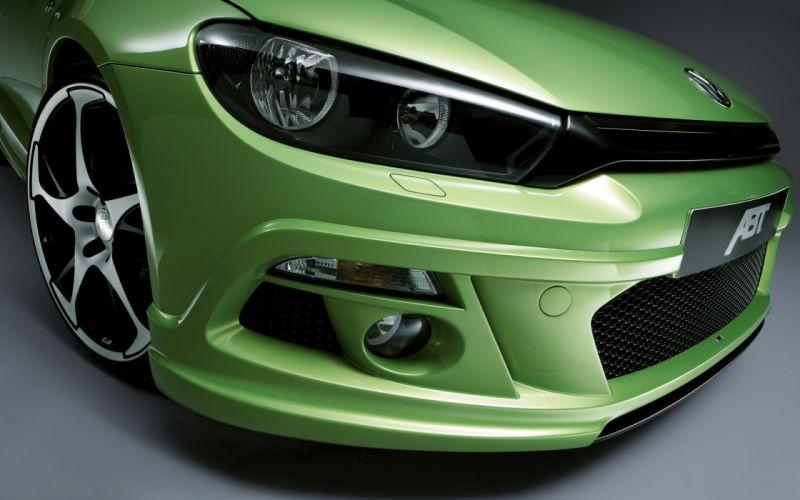 Up cars vehicles volkswagen volkswagen scirocco headlights wallpaper