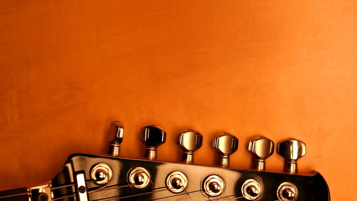 Guitar n' Orange wallpaper