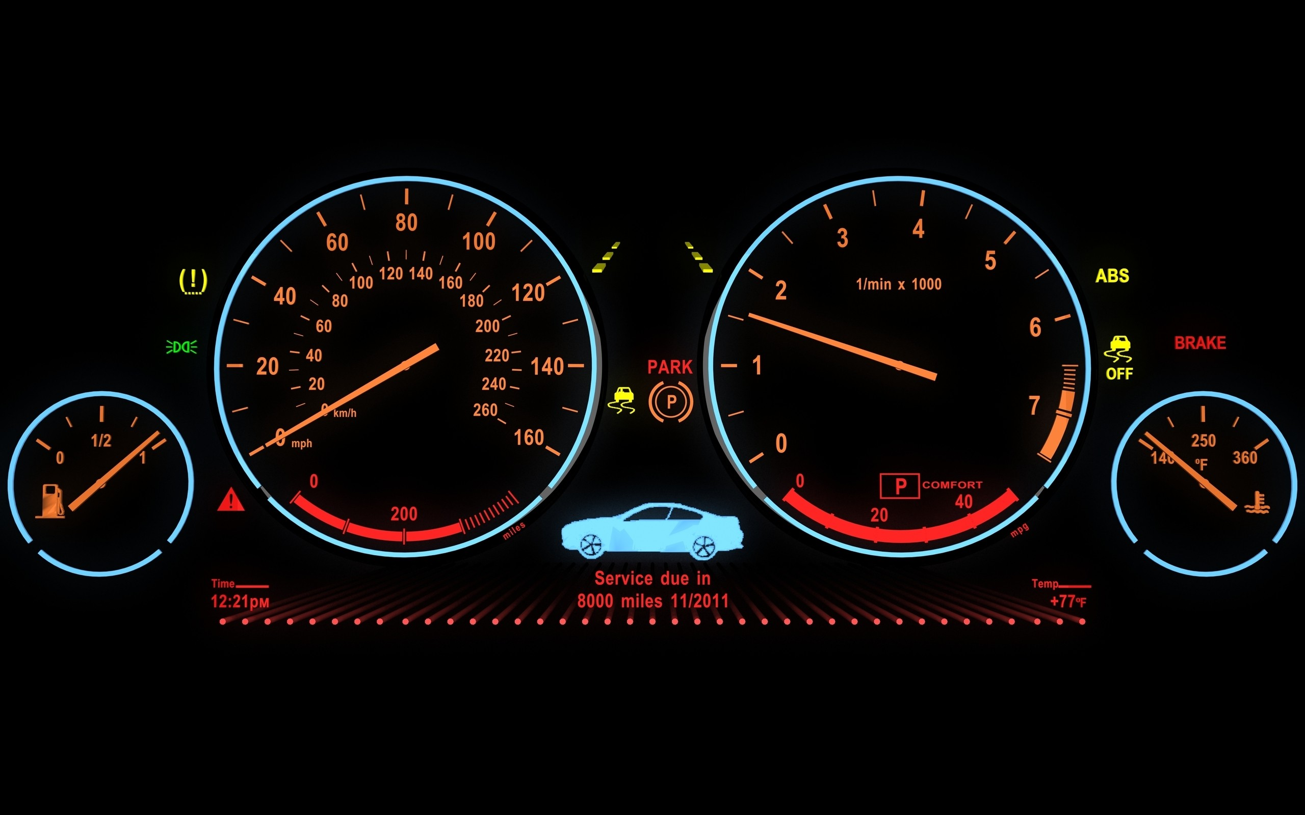 Cars Dashboards Wallpaper 2560x1600 15864 Wallpaperup