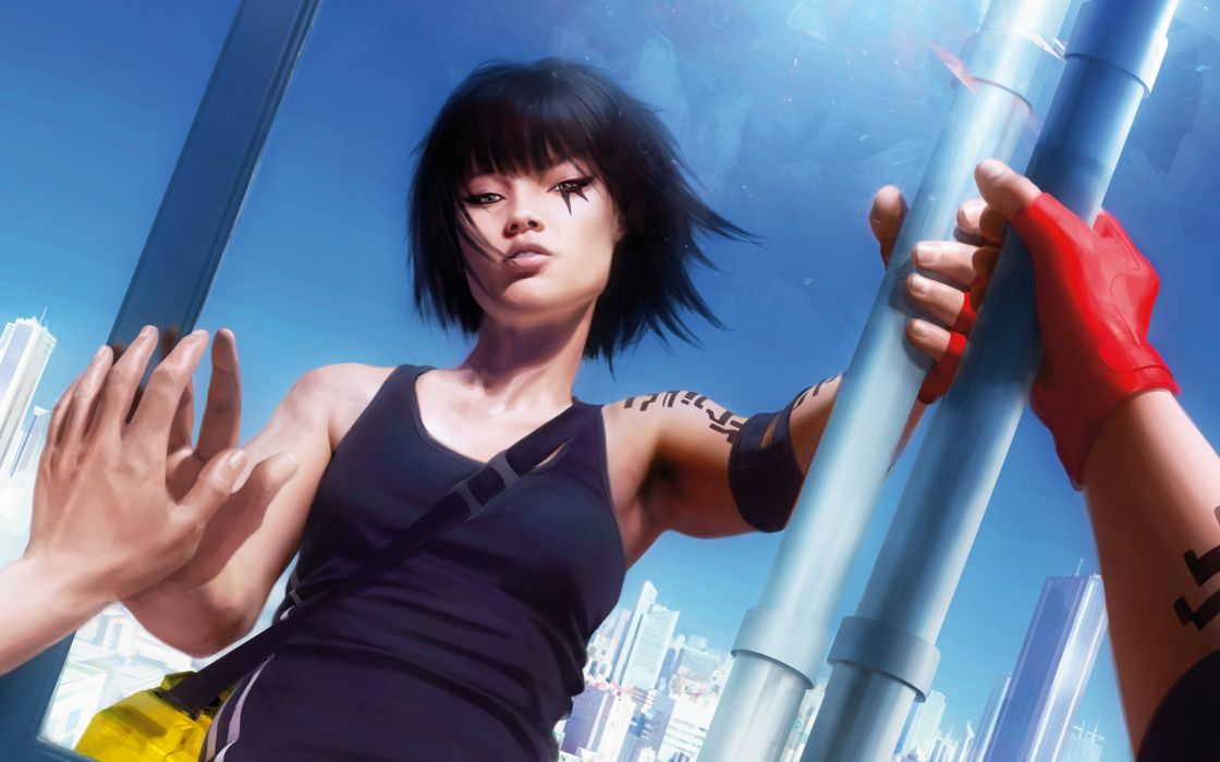 Mirrors edge case faith connors wallpaper