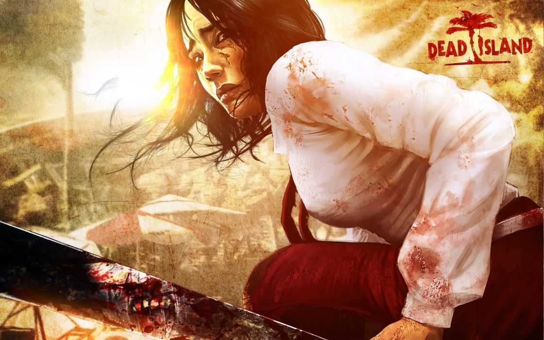 Women horror video games undead dead island wallpaper