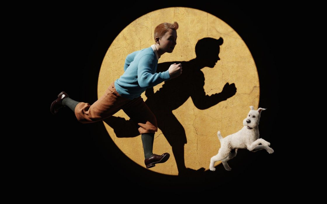 Movies tintin the adventures of tintin snowy wallpaper