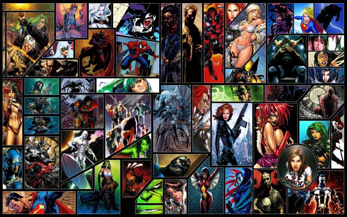 Dc comics superheroes marvel wallpaper