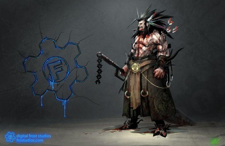 Paintings video games illustrations fantasy art digital art artwork warriors drawings swords airbrushed great wallpaper