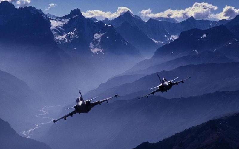 Mountains aircraft swedish jet aircraft jas 39 gripen gripen saab gripen wallpaper