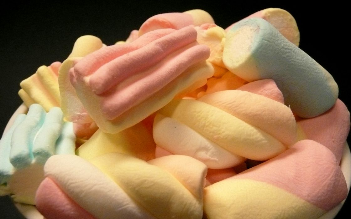 Food candy marshmallow wallpaper