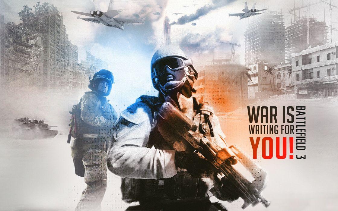Soldiers video games battlefield 3 wallpaper