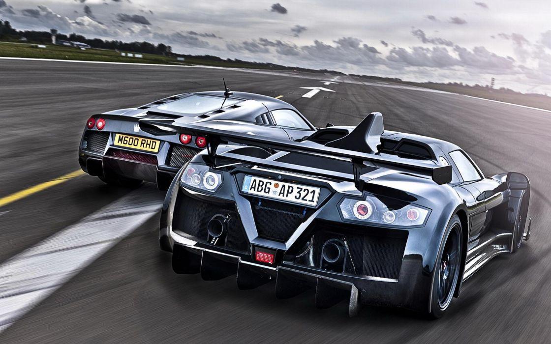Cars gumpert apollo racing noble m600 wallpaper