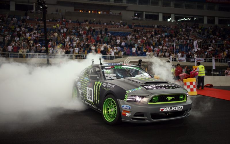 Cars ford mustang monster energy wallpaper
