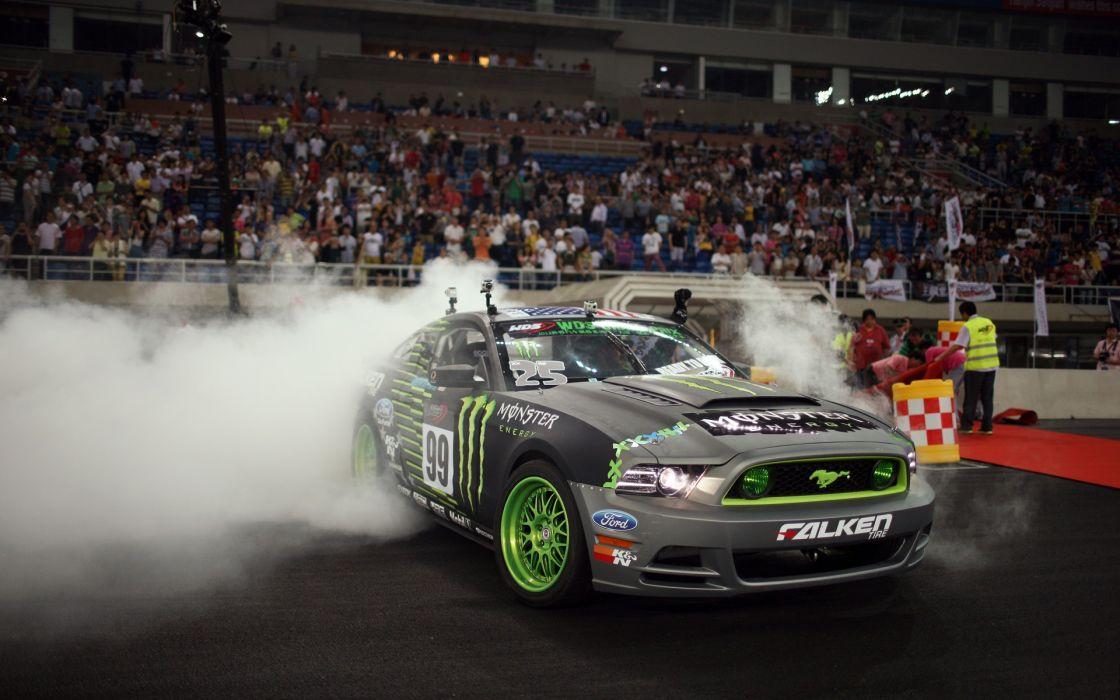 Cars ford mustang monster energy wallpaper