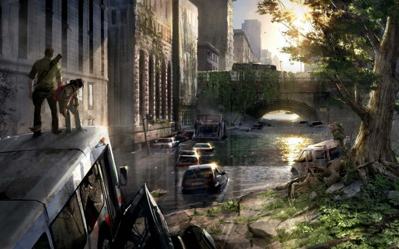 Apocalyptic the last of us wallpaper