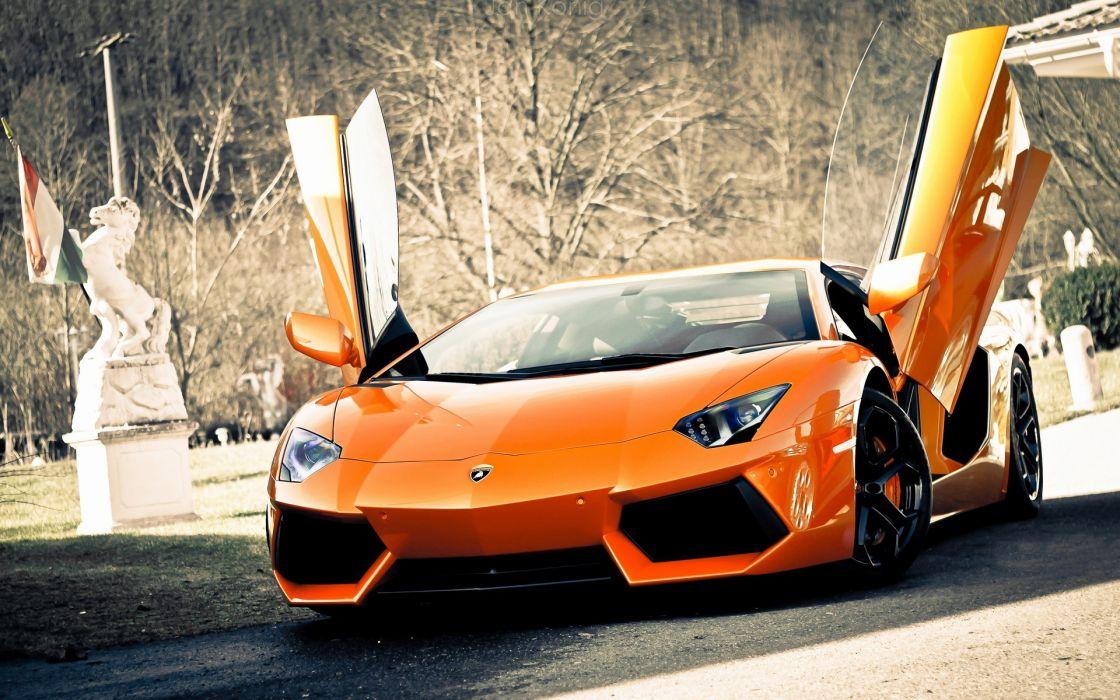 Cars muscle cars lamborghini aventador italian cars wallpaper