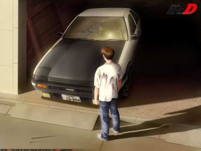 Vehicles toyota ae86 initial d wallpaper