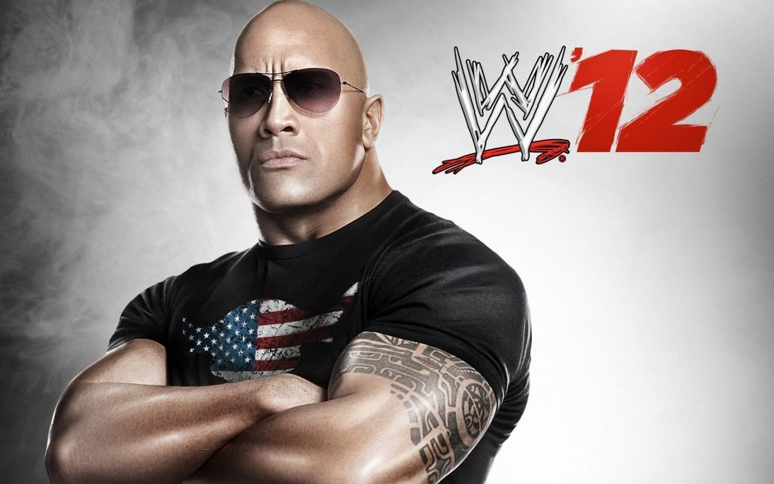 The rock wwe world wrestling entertainment dwayne johnson wallpaper