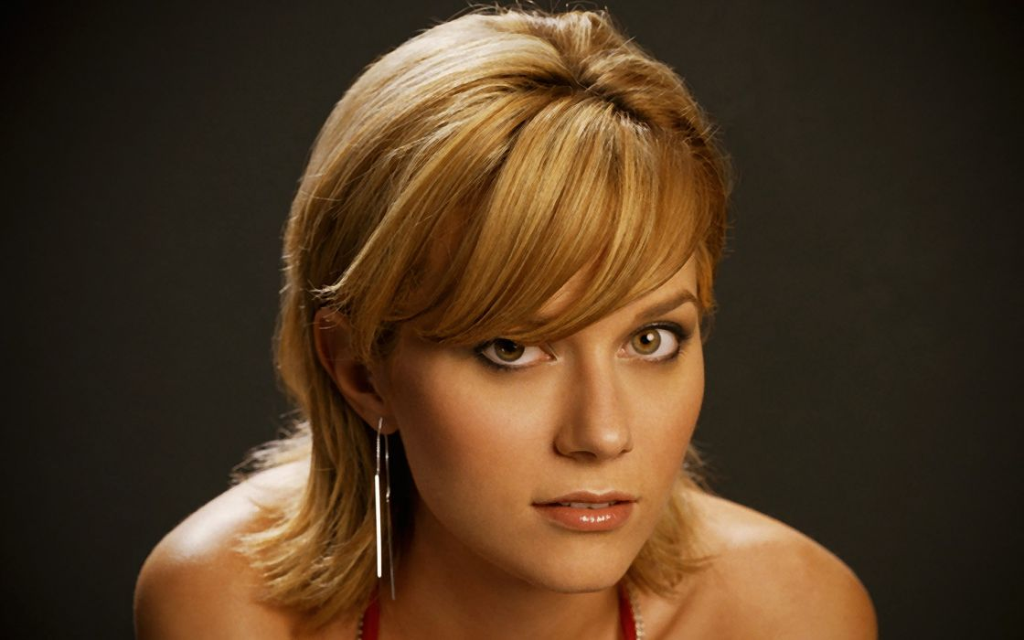 Blondes women celebrity hilarie burton faces wallpaper