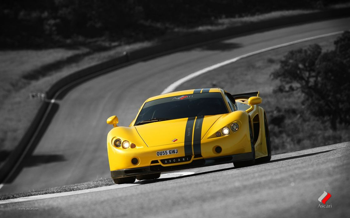 Cars vehicles ascari selective coloring ascari a10 wallpaper