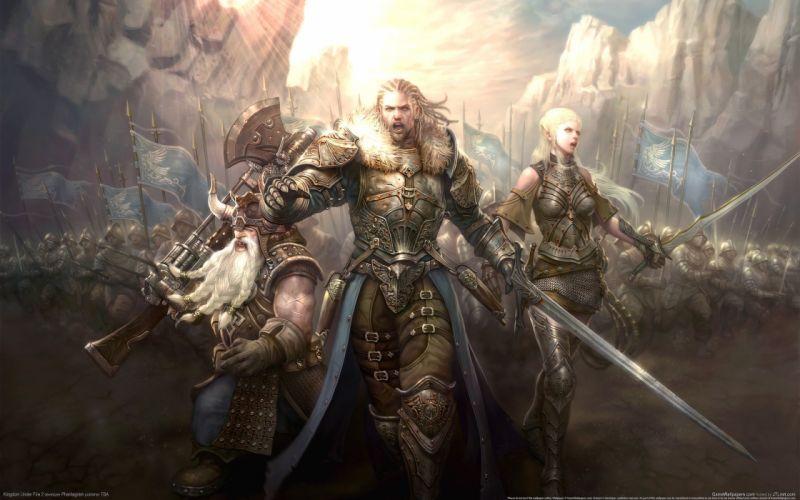 Video games kingdom under fire 3d wallpaper