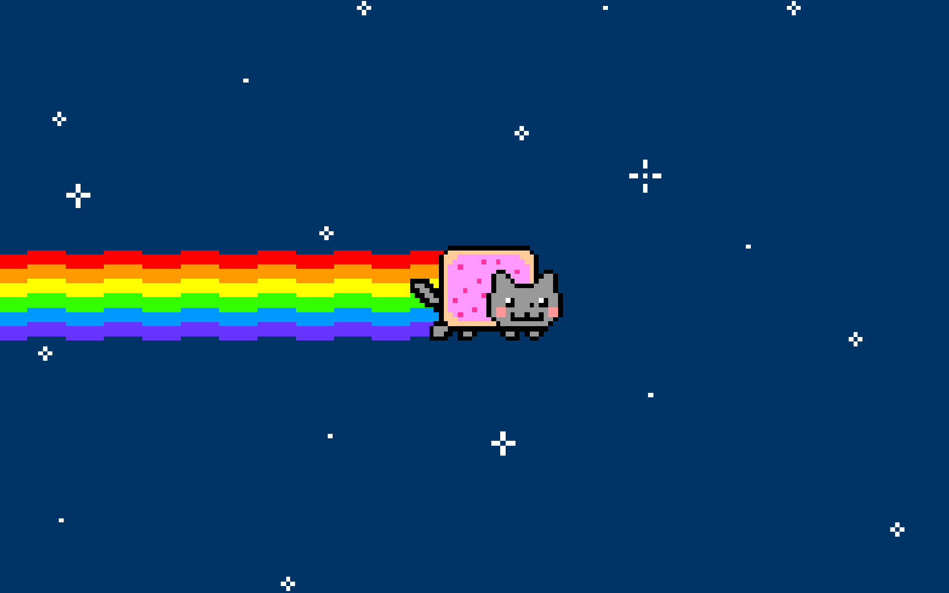 rainbow cat wallpapers - photo #14