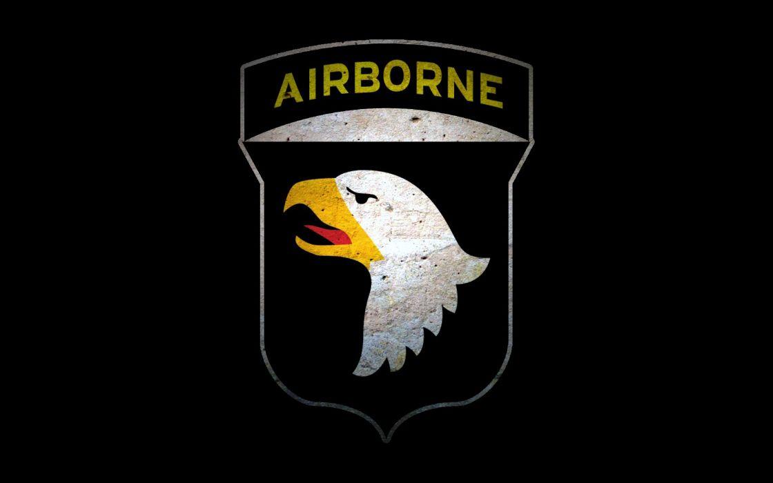 Black airborne wallpaper