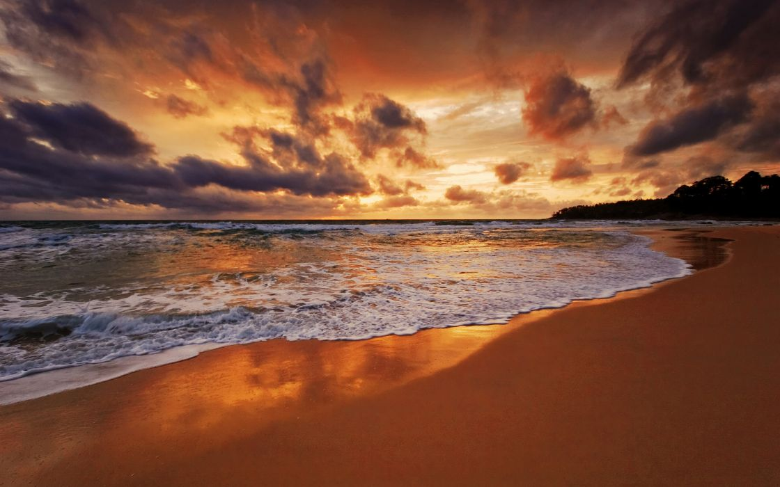 Clouds landscapes nature beach hdr photography skyscapes wallpaper