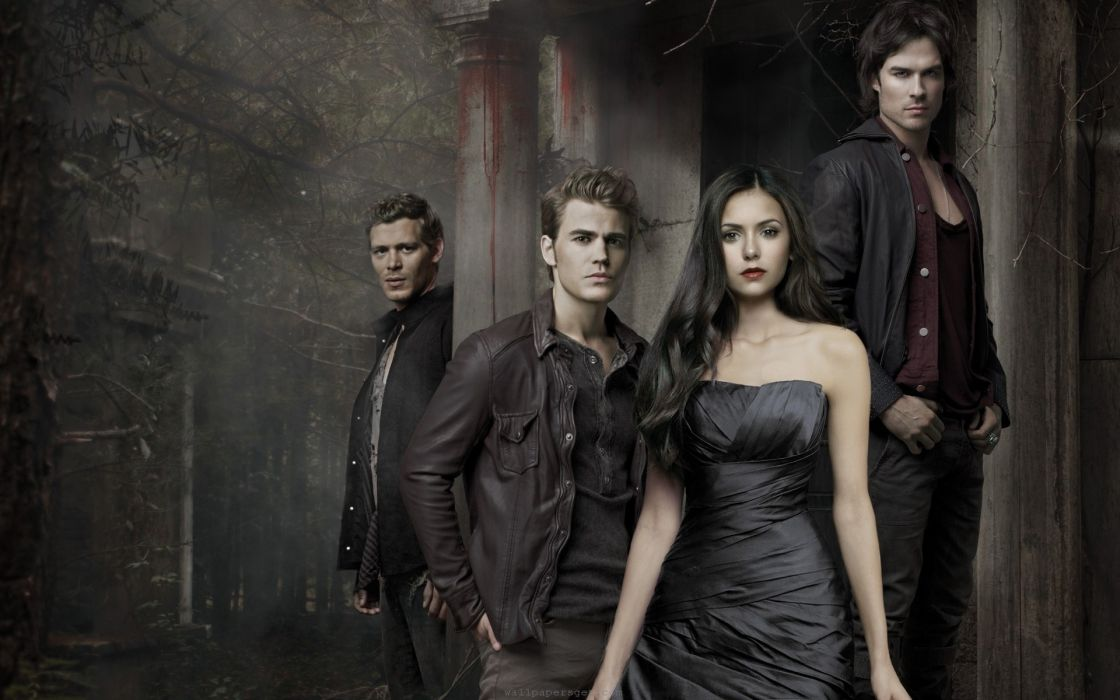 Horror fantasy usa the vampire diaries tv series vampire diaries story youth wallpaper