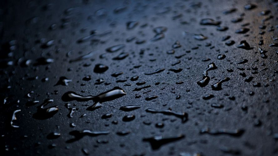 Raindrops wallpaper